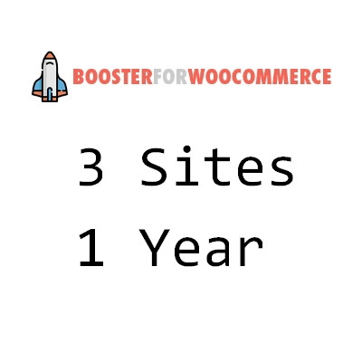 booster Genuine license for sale 3 Sites 1 year 39.99USD